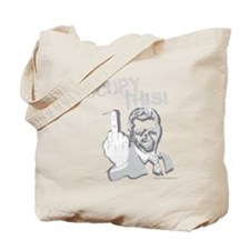 Occupy This! on Dark Tote Bag