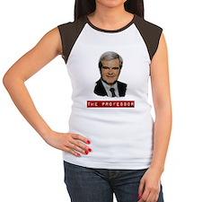 Newt Gingrich The Profe Women's Cap Sleeve T-Shirt