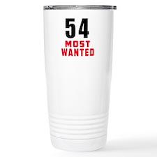 54 most wanted Travel Mug