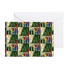 HolidayGiftsCoinBoth Greeting Card