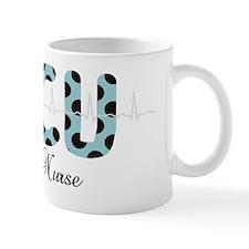 ICU Nurse QRS blue Mug