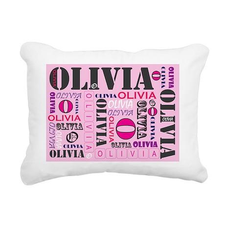 OliviaCardAI2011 Rectangular Canvas Pillow