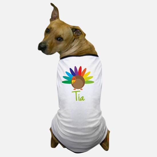 Tia-the-turkey Dog T-Shirt