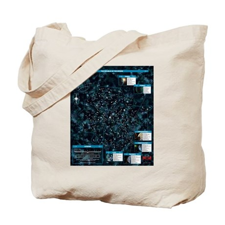 Map of the Republic of the Sphere Tote Bag
