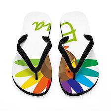Eliza-the-turkey Flip Flops