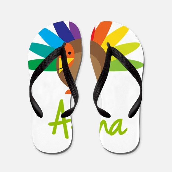 Alana-the-turkey Flip Flops