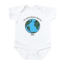 Revolves around Jem Infant Bodysuit