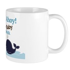 Ships Ahoy Baby Shower Sign Mug