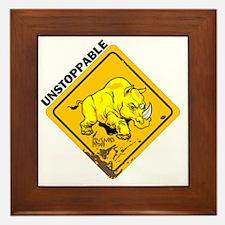 10x10_apparel-unstoppable Framed Tile