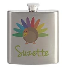 Suzette-the-turkey Flask