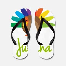 Juliana-the-turkey Flip Flops
