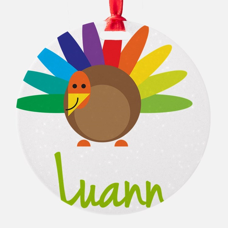 Luann-the-turkey Ornament
