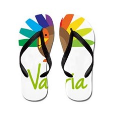 Valeria-the-turkey Flip Flops