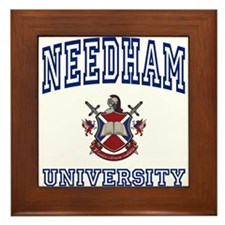 NEEDHAM University Framed Tile