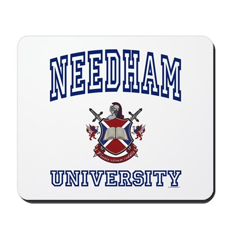 NEEDHAM University Mousepad