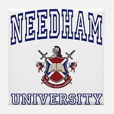 NEEDHAM University Tile Coaster