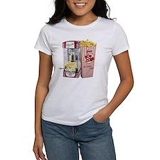popcorn flip flops Tee
