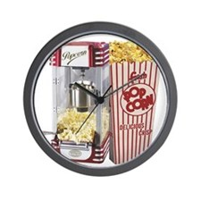 popcorn flip flops Wall Clock