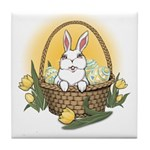 Easter Bunny Gifts Tile Coaster