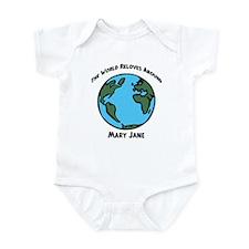 Revolves around Mary Jane Infant Bodysuit