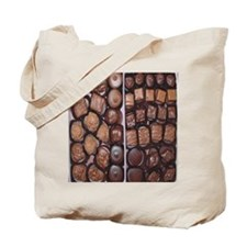 Chocolate Candy Flip Flops Tote Bag