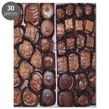 Chocolate Candy Flip Flops Puzzle