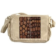 Chocolate Candy Flip Flops Messenger Bag