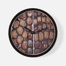 Chocolate Candy Flip Flops Wall Clock