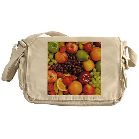 Mixed Fruit Flip Flops Messenger Bag