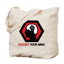 occupy-your-mind-cp Tote Bag