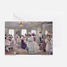 1 JAN GERVEX Paquin Greeting Card