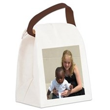 Avery and Garret Canvas Lunch Bag