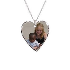 Avery and Garret Necklace Heart Charm