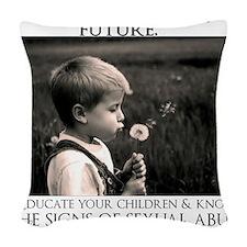 kateservann Woven Throw Pillow