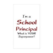 school principal Decal