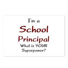 school principal Postcards (Package of 8)