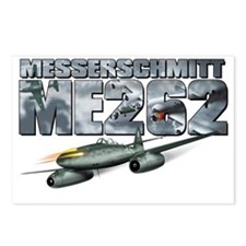 me262tshirt_front Postcards (Package of 8)