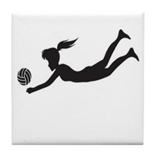 volleyball8 Tile Coaster