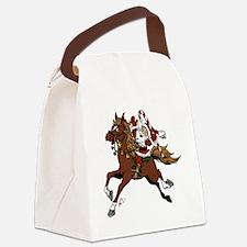 Happy Santa Canvas Lunch Bag