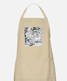Night Meeting with the Unicorn BBQ Apron