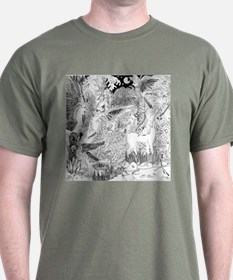 Night Meeting with the Unicorn T-Shirt