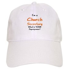 church secretary Baseball Cap