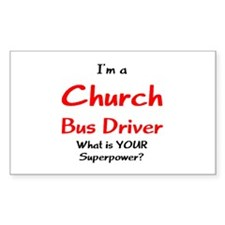 church bus driver Decal