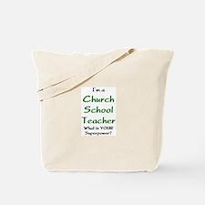 church school teacher Tote Bag