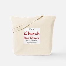 church bus driver Tote Bag