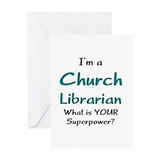 church librarian Greeting Card