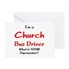 church bus driver Greeting Card