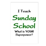 teach sunday school Postcards (Package of 8)