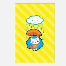 rainyday_notecards Postcards (Package of 8)