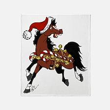 jingle pony Throw Blanket